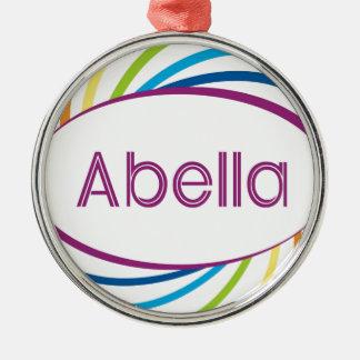Abella Metal Ornament