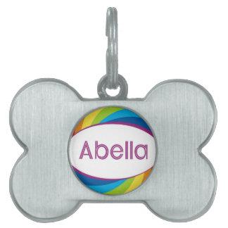 Abella Pet Name Tag