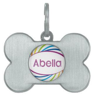 Abella Pet Tags
