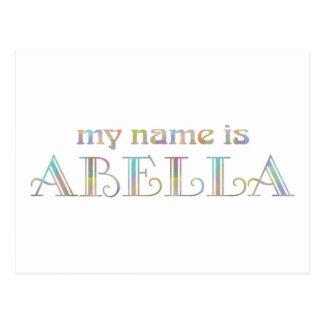 Abella Postcard