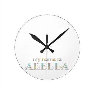 Abella Round Clock