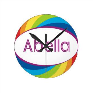 Abella Round Wall Clock