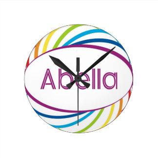 Abella Round Wall Clocks