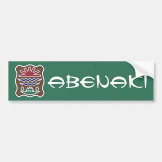 Abenaki Car Bumper Sticker