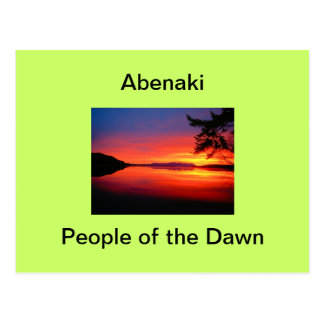 Abenaki - People of the Dawn: Postcards