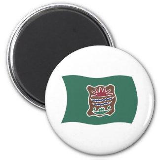 Abenaki Tribe Flag Magnet
