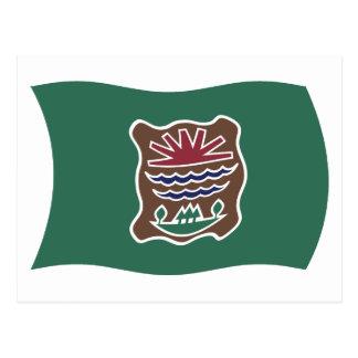 Abenaki Tribe Flag Postcard