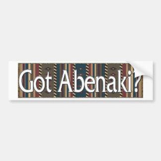 Abenkai Etiqueta De Parachoque