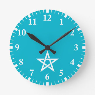 Abeno Seimei amulet Round Clock