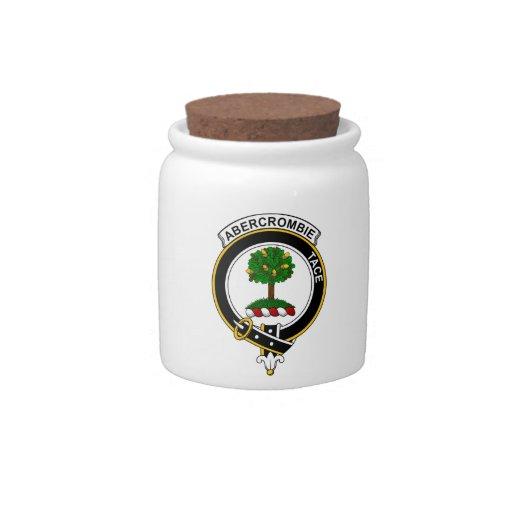 Abercrombie Clan Badge Candy Jar