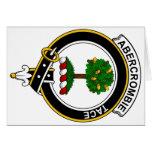 Abercrombie Clan Badge Greeting Card