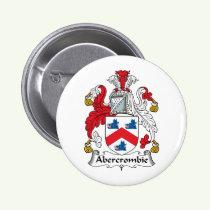 Abercrombie Family Crest Button