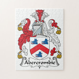 Abercrombie Family Crest Puzzle