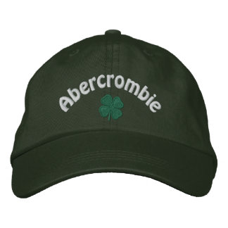 Abercrombie - Four Leaf Clover Embroidered Baseball Cap