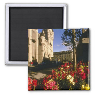 Aberdeen flowers 2 inch square magnet