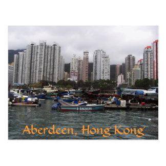 Aberdeen, Hong Kong Postcard