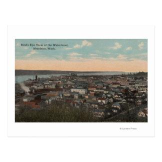 Aberdeen, WA - opinión del ojo de pájaro de la Postales
