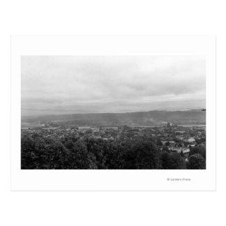Aberdeen, WA Town View from Belaire Hill Postcard