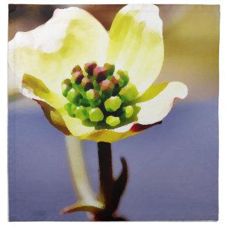 Abertura del Flor-PhotoMagic del Dogwood Servilletas