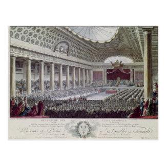 Abertura del general de estados en Versalles Postal