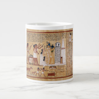 Abertura del libro de la ceremonia de la boca de l taza de café gigante