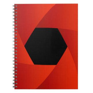Abertura del obturador cuadernos
