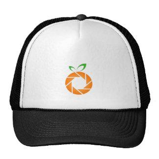 Abertura formada naranja gorro de camionero