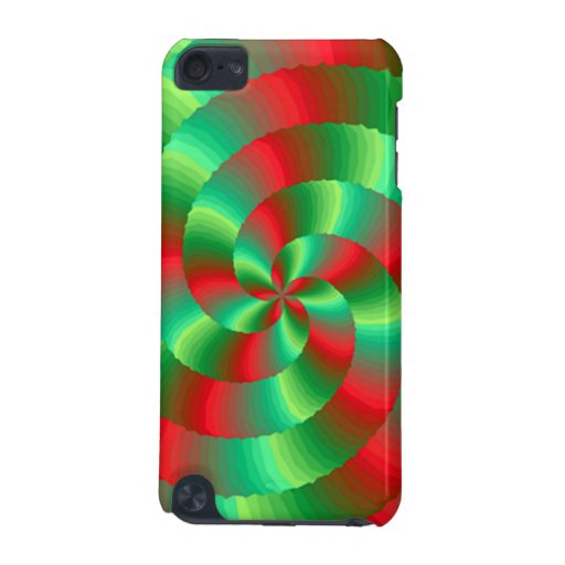 abestrato with forms circulares iPod touch (5th generation) case