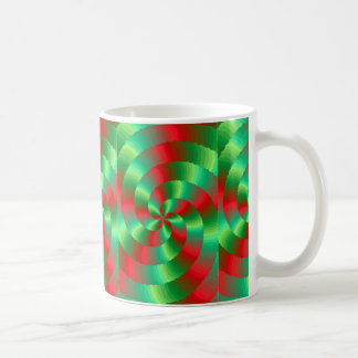 abestrato with forms circulares coffee mug