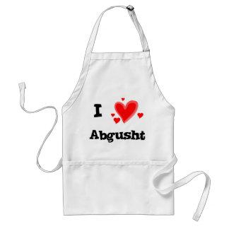 Abgusht de los corazones I Delantal
