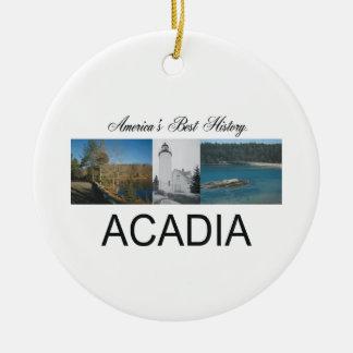 ABH Acadia Ceramic Ornament