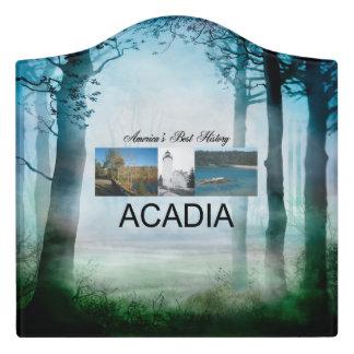 ABH Acadia Door Sign