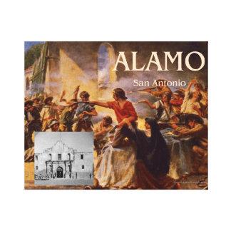 ABH Alamo Stretched Canvas Print