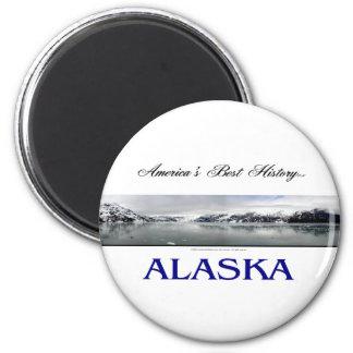 ABH Alaska 2 Inch Round Magnet