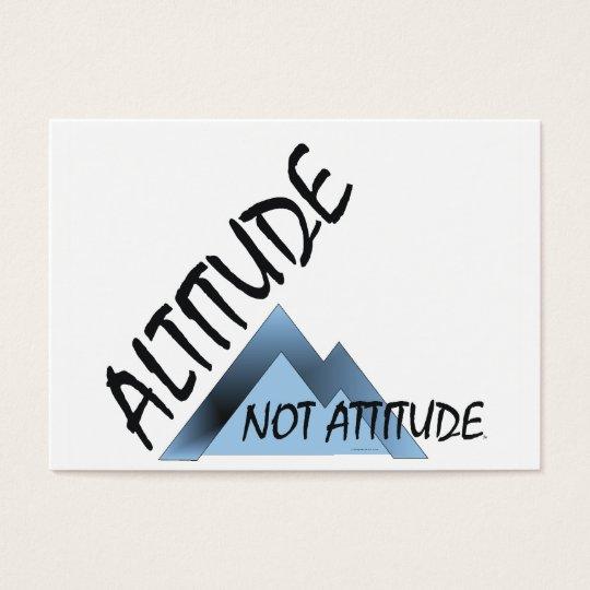 ABH Altitude Not Attitude Business Card