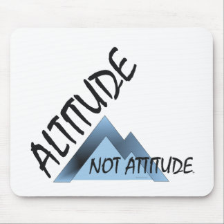 ABH Altitude Not Attitude Mouse Pad