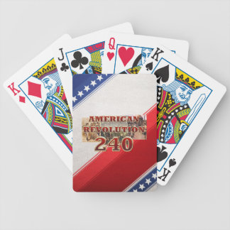 ABH American Revolution 240th Anniversary Bicycle Playing Cards