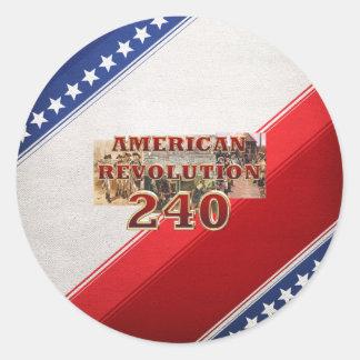ABH American Revolution 240th Anniversary Classic Round Sticker