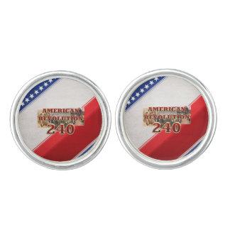 ABH American Revolution 240th Anniversary Cufflinks