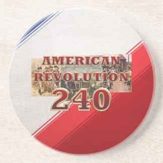 ABH American Revolution 240th Anniversary Drink Coaster