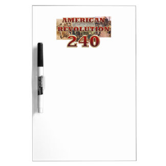 ABH American Revolution 240th Anniversary Dry-Erase Board