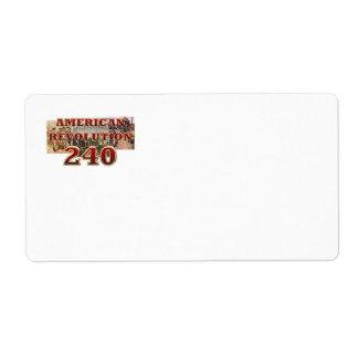 ABH American Revolution 240th Anniversary Label