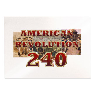 ABH American Revolution 240th Anniversary Large Business Card