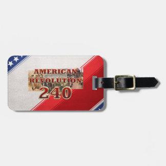 ABH American Revolution 240th Anniversary Luggage Tag