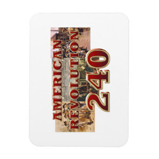 ABH American Revolution 240th Anniversary Magnet