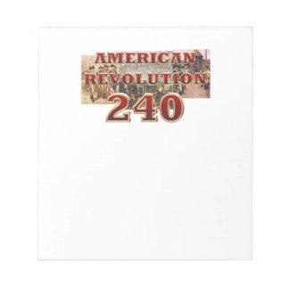 ABH American Revolution 240th Anniversary Notepad