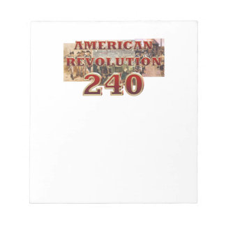 ABH American Revolution 240th Anniversary Notepad