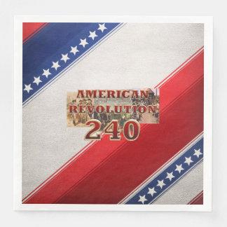 ABH American Revolution 240th Anniversary Paper Dinner Napkin