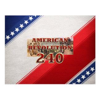 ABH American Revolution 240th Anniversary Postcard