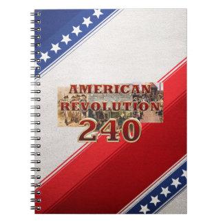 ABH American Revolution 240th Anniversary Spiral Notebook